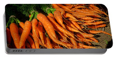 Organic Carrots Portable Battery Charger
