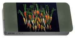 Organic Rainbow Carrots Portable Battery Charger