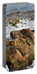 Ornate Colorful Boulders In The Book Cliffs Portable Battery Charger