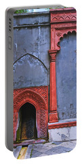 Ornate Red Wall Portable Battery Charger
