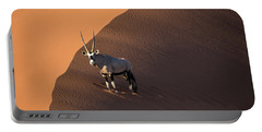 Oryx On The Edge, Namibia Portable Battery Charger