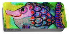 Oscar The Nosefish Portable Battery Charger