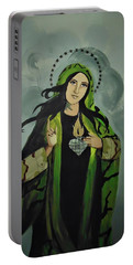 Our Lady Of Veteran Suicide Portable Battery Charger