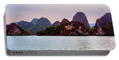 Out To Sea - Halong Bay, Vietnam Portable Battery Charger