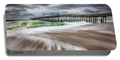 Outer Banks Nc North Carolina Beach Seascape Photography Obx Portable Battery Charger