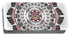 Pacific Northwest Native American Art Mandala Portable Battery Charger