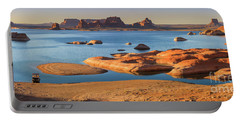 Padre Bay, Lake Powell, From Cookie Jar Butte Portable Battery Charger