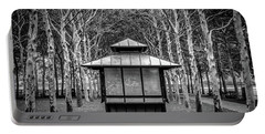 Portable Battery Charger featuring the photograph Pagoda by Steve Stanger