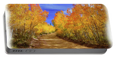 Painted Aspens Portable Battery Charger