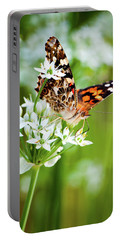 Painted Lady II Portable Battery Charger