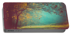 Painted Sunrise Portable Battery Charger