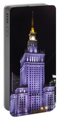 Palace  Of Culture And Science  Portable Battery Charger