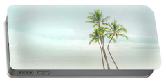 Palm Tree Cluster  Portable Battery Charger