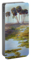 Palm Tree Hideaway Portable Battery Charger