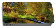 Portable Battery Charger featuring the photograph Palouse River Reflections by David Patterson