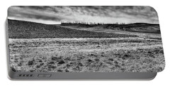 Portable Battery Charger featuring the photograph Palouse Treeline by David Patterson