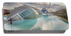 Panoramic Cinema In The City Of Sciences Of Valencia, Spain, Vis Portable Battery Charger