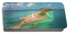 Paradise Island Lighthouse Portable Battery Charger