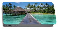 Rangiroa, Tuamotu - Paradise On Earth Portable Battery Charger