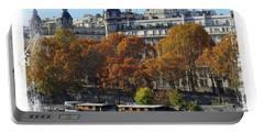 Paris Houseboat Portable Battery Charger