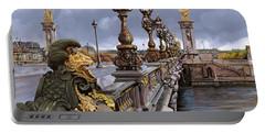 Paris-pont Alexandre Terzo Portable Battery Charger