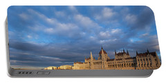 Parliament On The Danube Portable Battery Charger