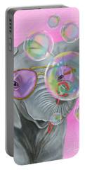 Party Safari Elephant Portable Battery Charger