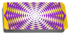 Passionate Purple  Portable Battery Charger