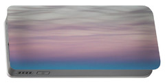 Pastel Clouds Portable Battery Charger