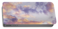 Pastel Cloudscape Portable Battery Charger