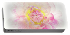 Portable Battery Charger featuring the photograph Pastel Dreams by Mary Jo Allen