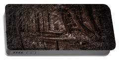 Path In Forest #i0 Portable Battery Charger
