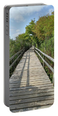 Portable Battery Charger featuring the photograph Path To Unknown by Liza Eckardt