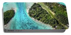 Bora Bora - Pathway To The Ocean Portable Battery Charger