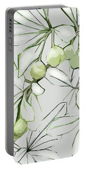 Patio Print Portable Battery Charger