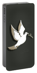 Peace Among The Clouds Portable Battery Charger