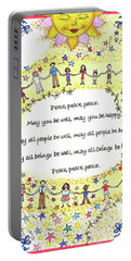 Peace, Peace, Peace Portable Battery Charger