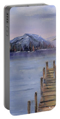 Peaceful Cattails Portable Battery Charger