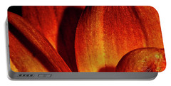 Peach Petals Portable Battery Charger