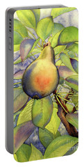 Pear Of Paradise Portable Battery Charger