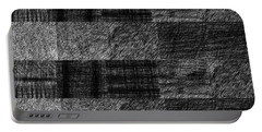 Pencil Scribble Texture 1 Portable Battery Charger