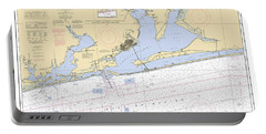 Pensacola Bay And Approaches Noaa Chart 11382 Portable Battery Charger