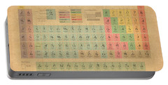 Periodic Table Of Elements Portable Battery Charger