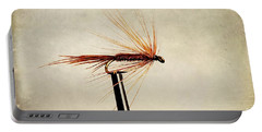 Pheasant Tail Dry Fly Portable Battery Charger