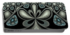 Portable Battery Charger featuring the digital art Philemon by Missy Gainer