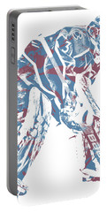 Philipp Grubauer Colorado Avalanche Pixel Art 3 Portable Battery Charger