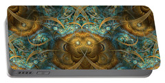 Portable Battery Charger featuring the digital art Philippians by Missy Gainer