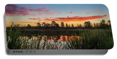 Phinizy Swamp Sunrise - Augusta Ga Portable Battery Charger