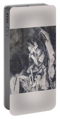 Portable Battery Charger featuring the drawing Picasso Study by Rosanne Licciardi
