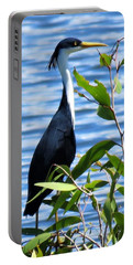Pied Heron Tree Portable Battery Charger